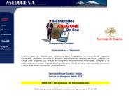 Sitio web de Asegure, S.a.