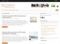 Sitio web de Extravaganza Viajes y Turismo