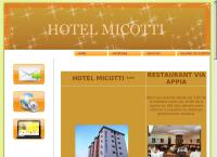 Sitio web de Hotel Micotti C.a