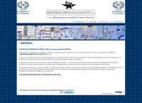 Sitio web de Industrias Metálicas Zavatti CA