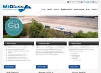 Sitio web de Mi-Glass, C.a.