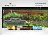 Sitio web de Hotel Montaña Suites