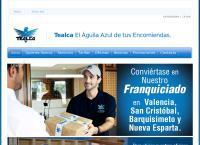 Sitio web de Tealca
