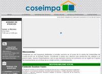Sitio web de COSEIMPA, C.A