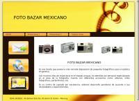 Sitio web de Foto Bazar Mexicano