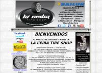 Sitio web de La Ceiba Tire Shop II CA