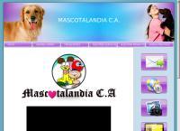 Sitio web de MASCOTALANDIA C.A
