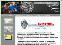 Sitio web de CHIVERA Inversiones Su Motor C.A MARACAY