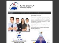 Sitio web de Grupo Livex C.a.