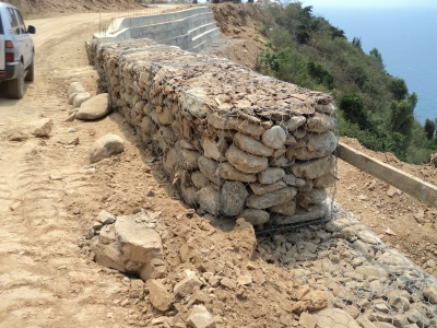 Mercurio construcciones c a caracas camino fuente - Malla para gaviones ...