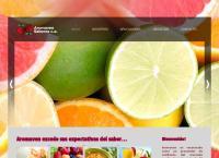 Sitio web de Aromaven Sabores c.a.