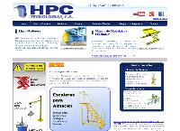 Sitio web de HPC TECNOLOGIAS C.A.