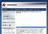 Sitio web de Hidroterm Ingenieria C.A